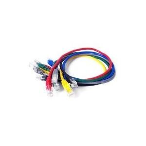 Patch cord 2xRJ45 F/UTP kat.6A szary LSZH 1,0m IC