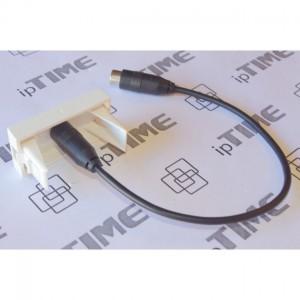 Przewód krosówka TDY 1x2x0,5 ( 500mb ) brązowo-biała