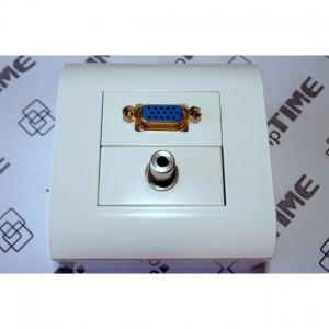 Patchcord światłowodowy 9/125 duplex LC-ST 3.0m