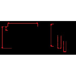 Adapter ipTIME F.O. SC duplex MM  fosforo-brąz