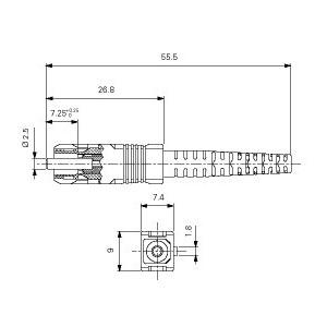 Narożnik zewnętrzny 60/130 AKS