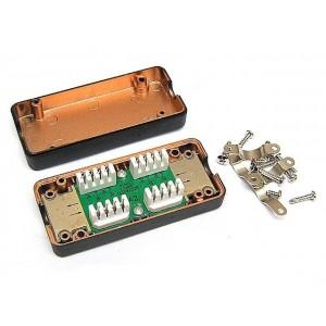 Patchcord światłowodowy 9/125 duplex SC/APC-SC/APC 0.5m