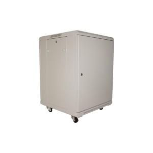 Drzwi metalowe szare do szaf 6U PRO 450, 550, 600