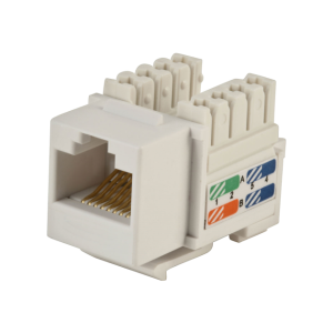 Patch cord cat.5e RJ45 1,0mb czarny